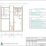 2_План спортивного зала с распложением технологического оборудования